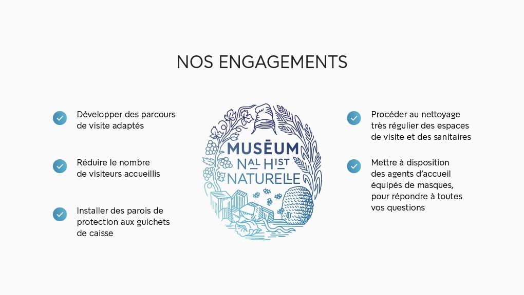 Les engagements du Muséum © MNHN