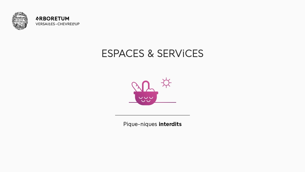 Espaces et services - Arboretum