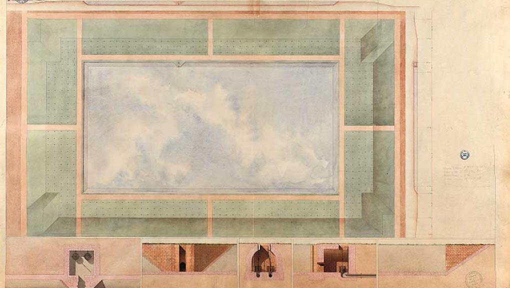 Projet de restauration du réservoir de Chèvreloup - 1ère moitié du XIXe siècle