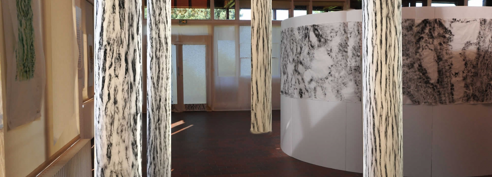 Installation de l'exposition ARBOR © C. Fulda